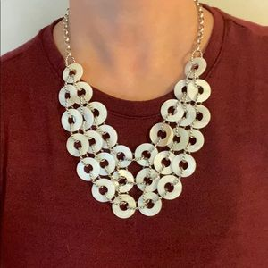 Premier Designs | Sandy Mother of Pearl Necklace